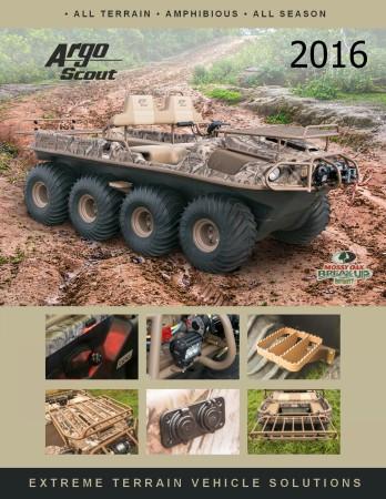 Argo Atv Scout X Brochure Icon
