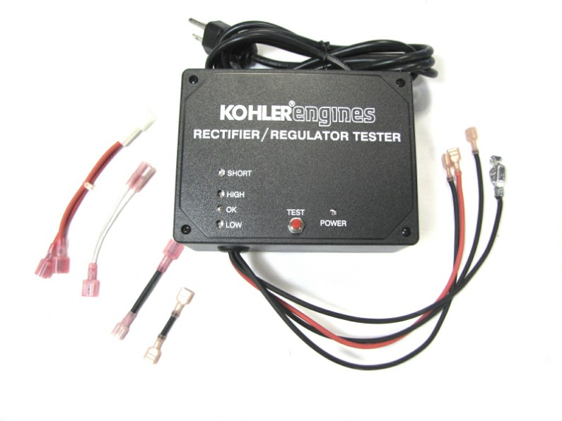 Kohler Command Voltage Regulator : Rectifier regulator tester kohler