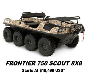 Argo Frontier 750 Scout 8x8