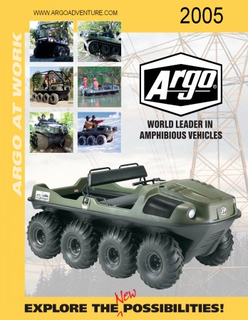 2005 ARGO ATV RECREATION MODEL BROCHURE