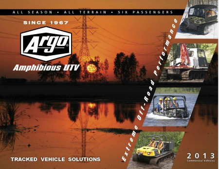 2013 ARGO ATV COMMERCIAL BROCHURE