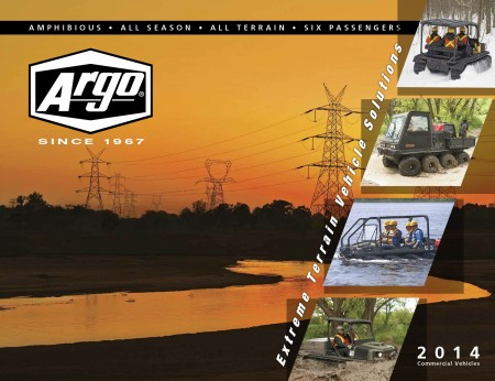 2014 ARGO ATV COMMERCIAL BROCHURE