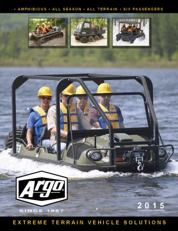 2015 ARGO ATV commercial BROCHURE