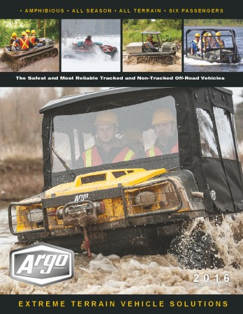 2016 ARGO ATV COMMERCIAL BROCHURE