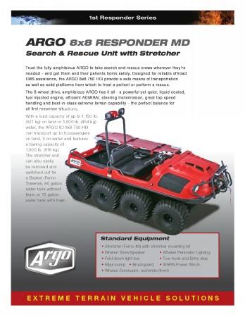 2016 ARGO ATV RESPONDER HDI MD BROCHURE