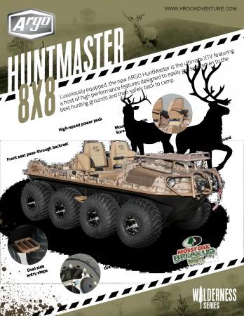 2016 ARGO ATV HUNTMASTER 8X8