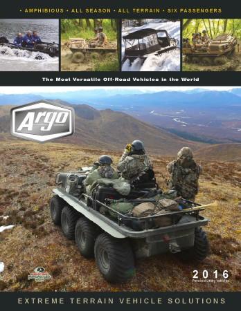 2016 ARGO ATV PERSONAL UTILITY BROCHURE