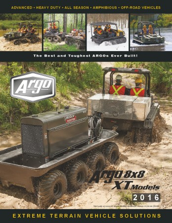 2016 ARGO ATV XT MODEL BROCHURE