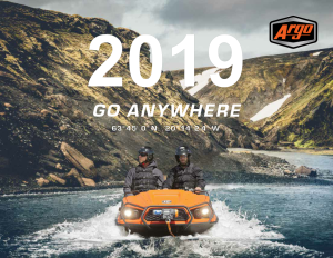 2019 ARGO ATV BROCHURE