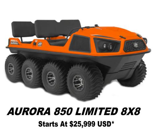 Argo Aurora 850 Limited 8x8