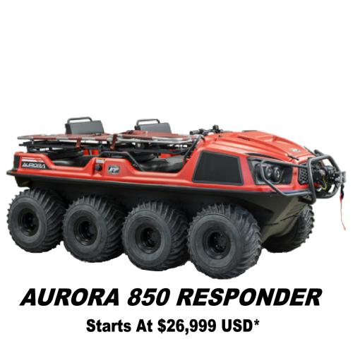 Argo Aurora 850 Responder-R 8x8