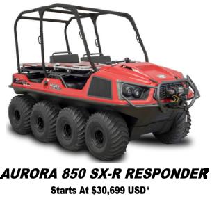 Argo Aurora SX-R 850 Responder 8x8