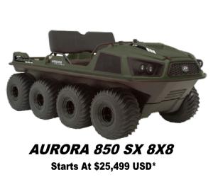 Argo Aurora 800 8x8