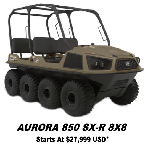 Argo Aurora 850 SX-r 8x8