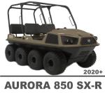 ARGO AURORA 850 SX-R 8X8 MANUALS
