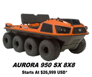 Argo Aurora 950 SX 8x8
