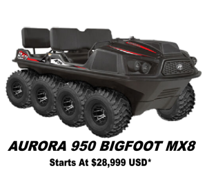 Argo Aurora 950 Bigfoot MX8 8x8