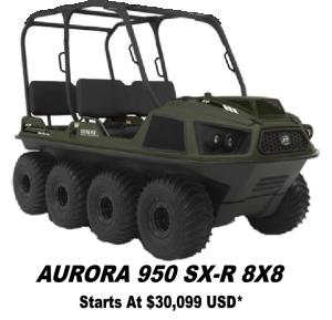 Argo Aurora 950 SX-R 8x8