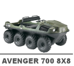 ARGO AVENGER 700 8X8 MANUALS