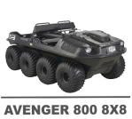 ARGO AVENGER 800 8X8 MANUALS