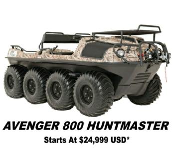 2019 Argo Avenger Hunt Master 8x8