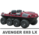 ARGO AVENGER 8X8 LX MANUALS