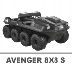 ARGO AVENGER 8X8 S MANUALS
