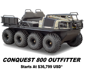 Argo Conquest 800 Outfitter 8x8