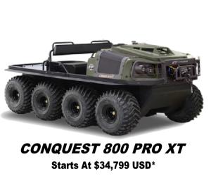 Argo Conquest Pro 800 XT 8x8