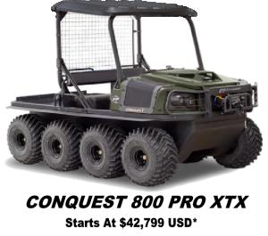 Argo Conquest Pro 800 XTX 8x8