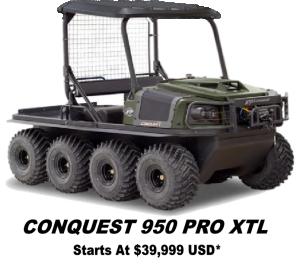 Argo Conquest Pro 950 XTL 8x8