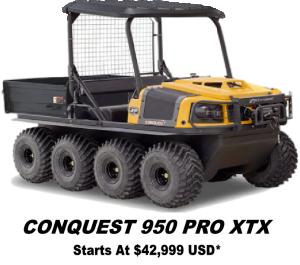 Argo Conquest Pro 950 XTX 8x8