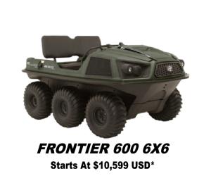 ARGO FRONTIER 600 6X6
