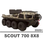 ARGO FRONTIER 700 SCOUT 8X8 2020 MANUALS