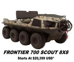 Argo Frontier 700 Scout 8x8