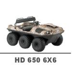 ARGO HD 650 6X6 MANUALS