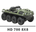 ARGO HD 700 8X8 MANUALS