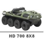 ARGO HD 700 8X8 MANUALS
