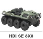 ARGO HDI SE 8X8 MANUALS