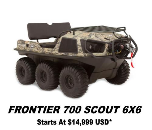 Argo Frontier 700 Scout 6x6