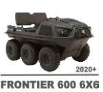 ARGO FRONTIER 600 6X6 MANUALS