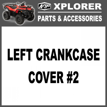 Left Crank Case Cover #2