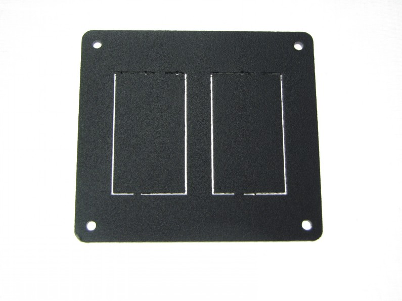 127-295 - PLATE, SWITCH MOUTING - 2 HOLE