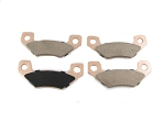165-36 - PAD SET (4) HAND BRAKE - ADMIRAL TRANS MODELS