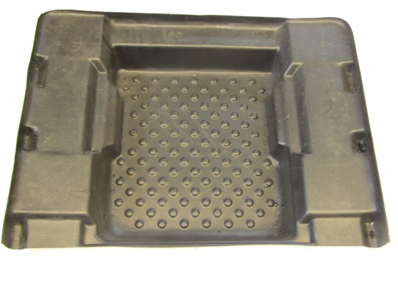 603-02BL - FLOOR PAN,FRONT-BLACK - DISCONTINUED