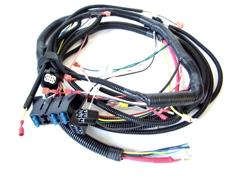 613-228 - WIRE HARNESS - FRONTIER, EFI on kohler engine alternator, kohler engine fuel tank, kohler engine clutch, kohler engine solenoid, kohler engine oil cooler, kohler engine flywheel, kohler engine air filter, kohler engine relay, kohler engine oil pump, kohler engine fuel filter, kohler engine air cleaner, kohler engine transmission, kohler engine grommet, kohler engine coil, kohler engine carburetor, kohler engine regulator, kohler engine cover, kohler engine manifold, kohler engine starter, kohler engine exhaust,