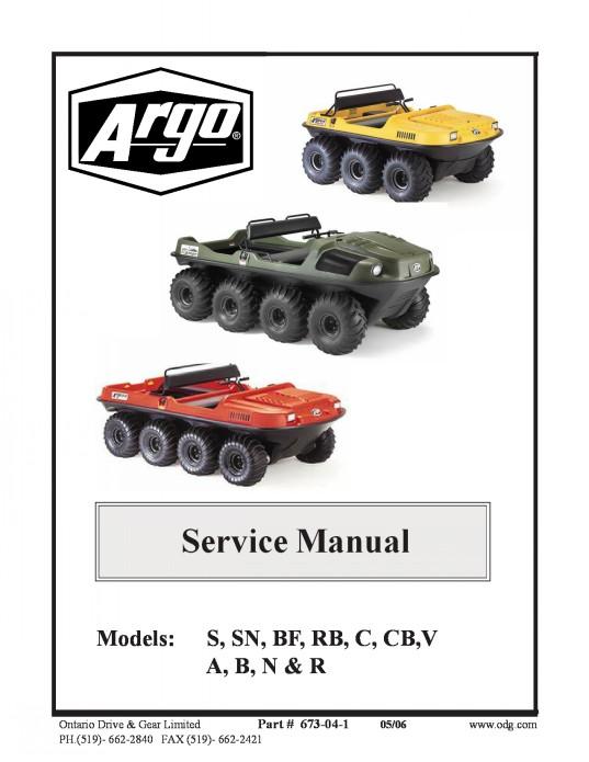 673 04 1 manual service argo 1992 2009 rh argoadventure com argo parts manual pdf argo response parts manual
