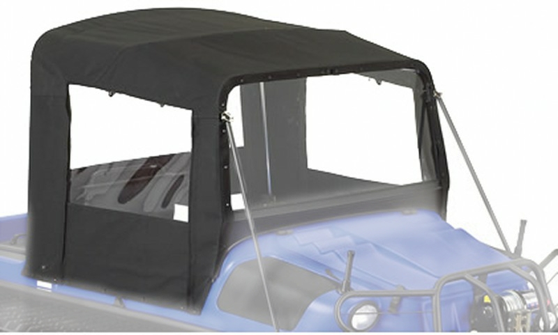 849-45 - ACC, CONVERTIBLE HALF-TOP, BLACK - AVENGER