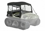 649-51 - ACC, CONVERTIBLE TOP, BLACK - FRONTIER 6X6