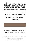 PAINT 8025-12  PAINT, TOUCH-UP OUTFITTER BROWN 12OZ CAN